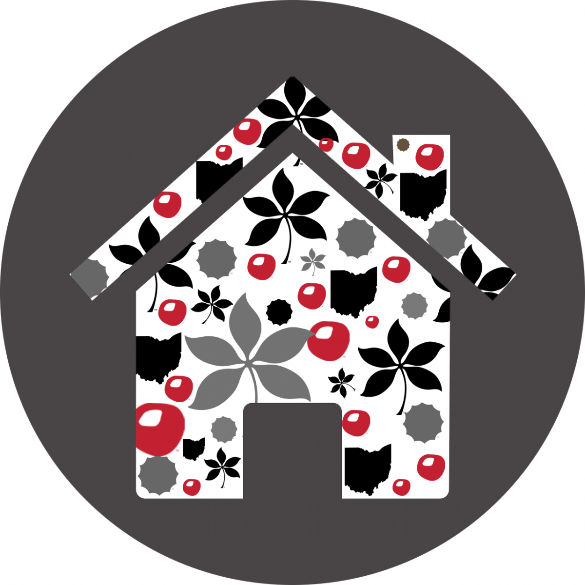 house with OSU look