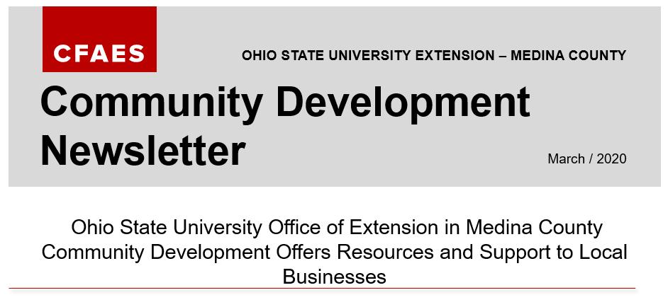 Medina County Extension Newsletter