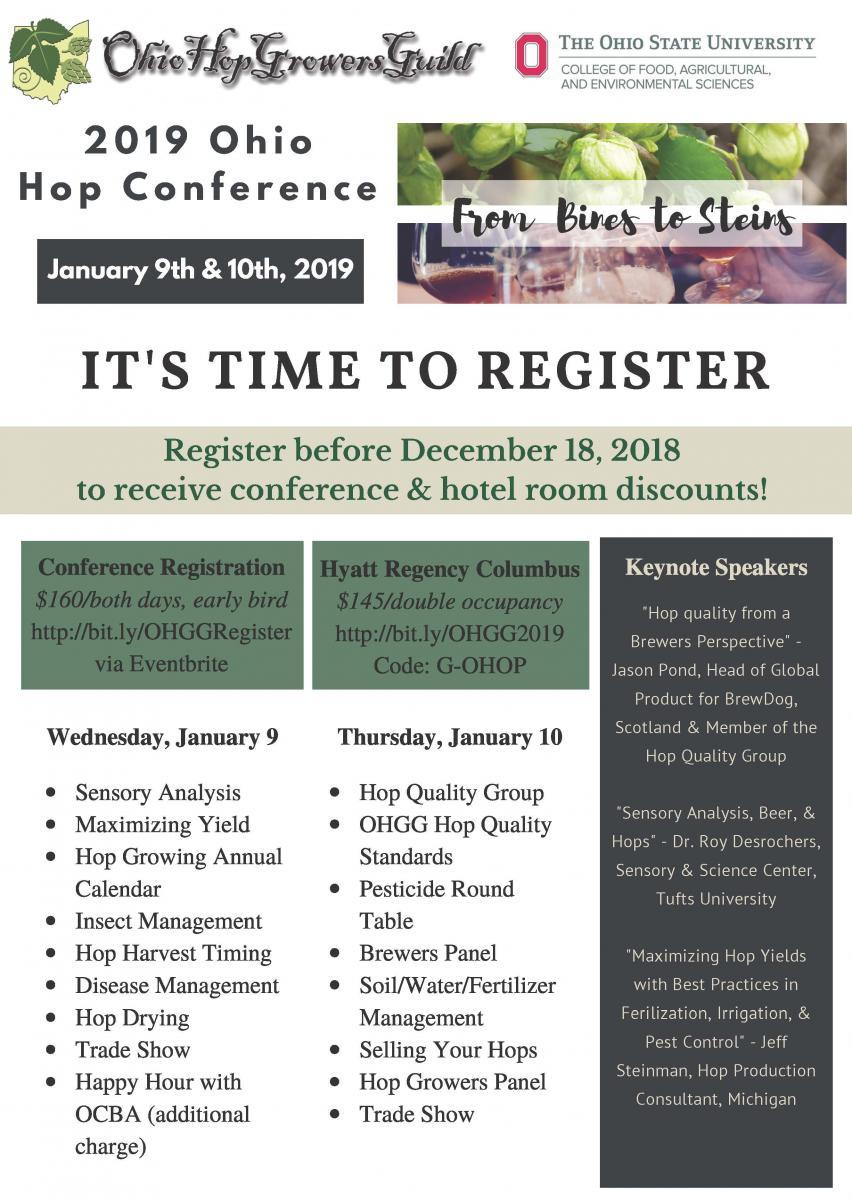2019 Ohio Hop Conference | Medina